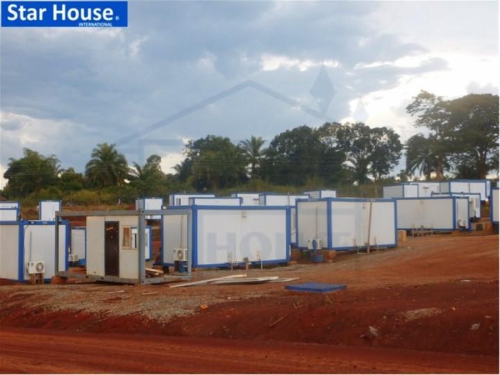 조립식컨테이너 STAR HOUSE 아프리카 콩고 프로젝트 현장