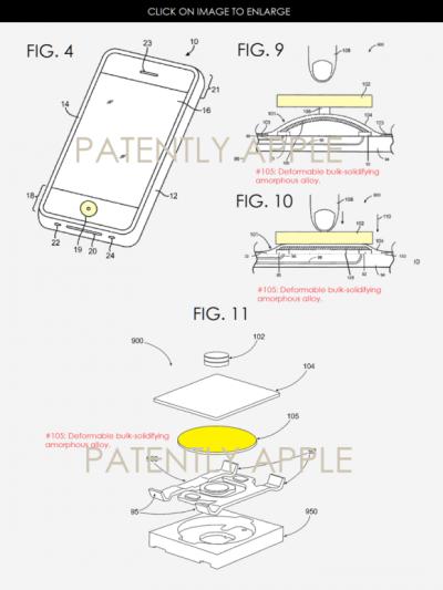 아이폰7에 적용될까? 애플, 리퀴드메탈 '홈버튼' 특허 취득