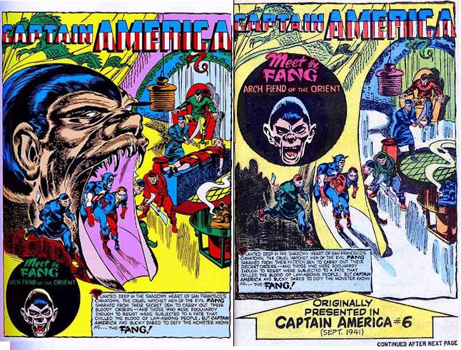 코믹스 코드가 수정한 50년대 미국만화들