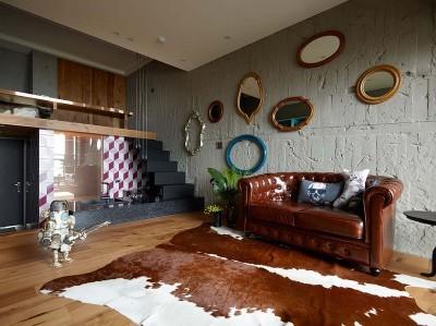 화려하고 감각적인 10평대 복층 아파트 인테리어
