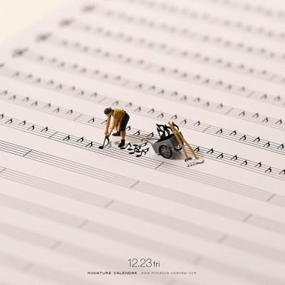[디아티스트매거진] 100만 명의 팔로워를 자랑하는 미니어처 장인의 기발하고 놀라운 작품