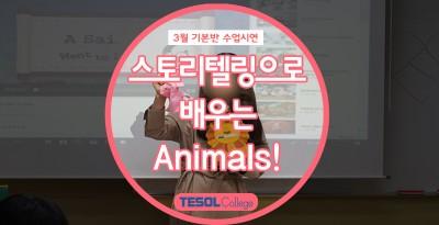 [엄마표 영어] 스토리텔링으로 배우는 Animals!