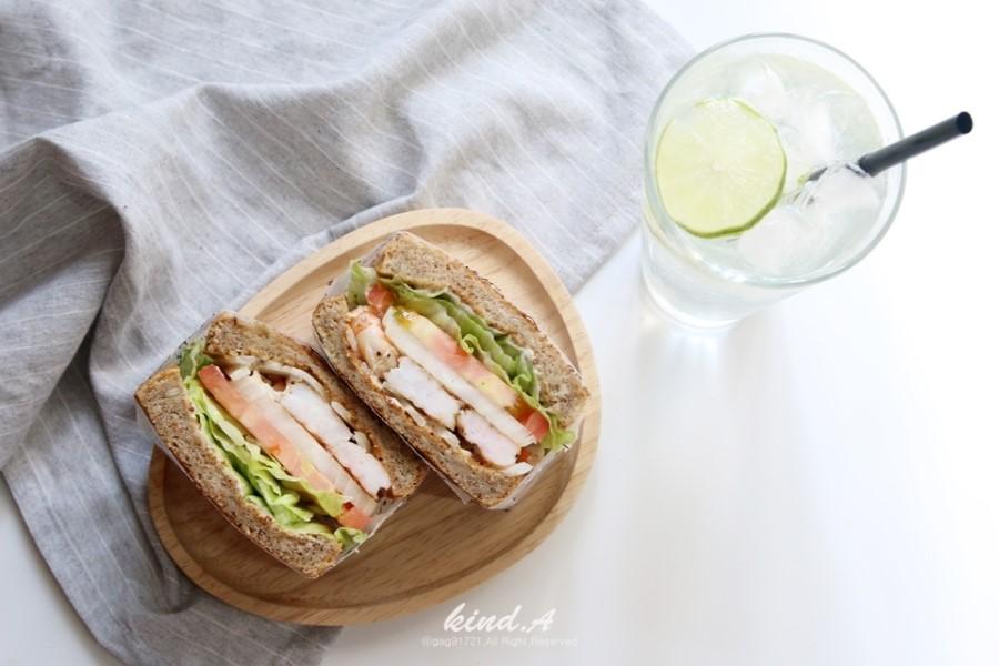 피크닉ㅣ통새우 샌드위치 만들기