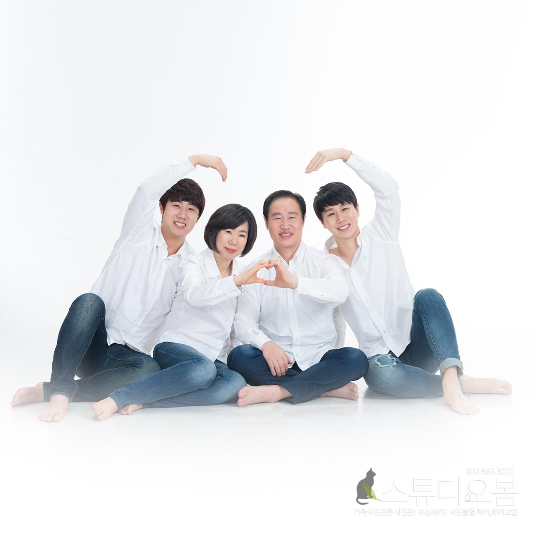 인천 스튜디오 인천가족사진 사진관 스튜디오봄