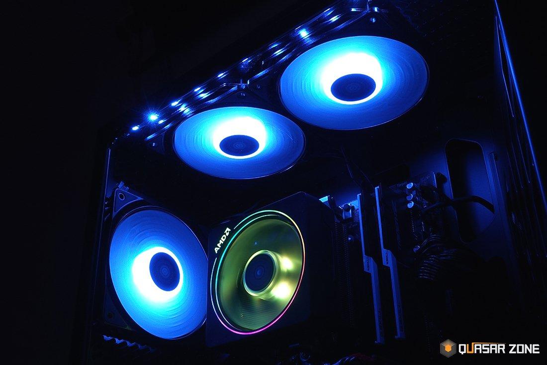 the latest be8ca 870b2 PC 튜닝을 끌어 올려라! DEEPCOOL CF120 RGB PWM/RGB 200 PRO ...