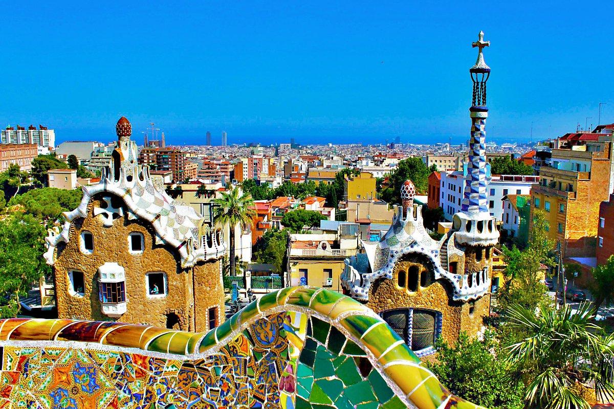 바르셀로나에 남은 가우디의 흔적 구엘공원 카사비센스