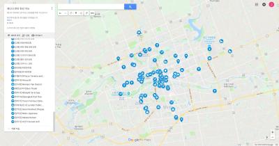 캐나다 런던 한인 생활정보 지도 초기 이민자용