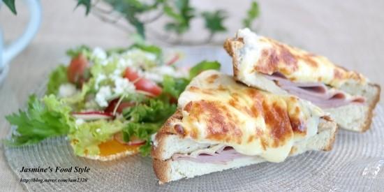 크로크무슈 만드는 법 / 브런치메뉴 식빵요리