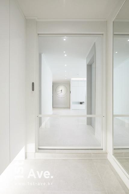 화이트 모던인테리어 중계동 라이프청구 아파트 42평