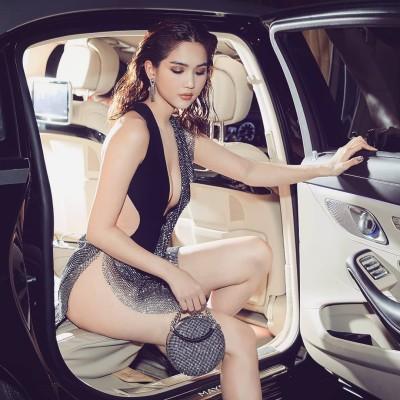베트남 여자모델 응옥찐, 칸에서 노출했다가 처벌 받을 뻔?