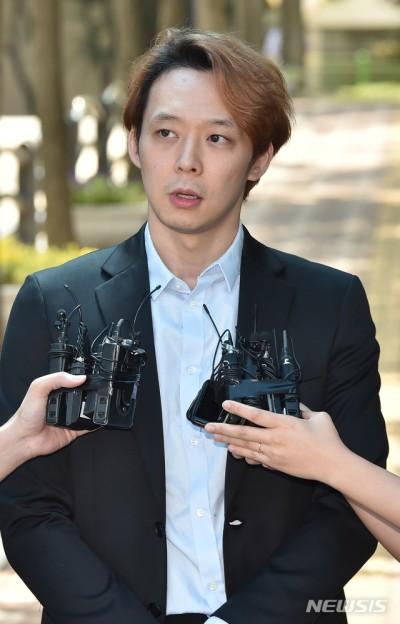 '집행유예' 박유천 '석방' 직후 첫 반응은?