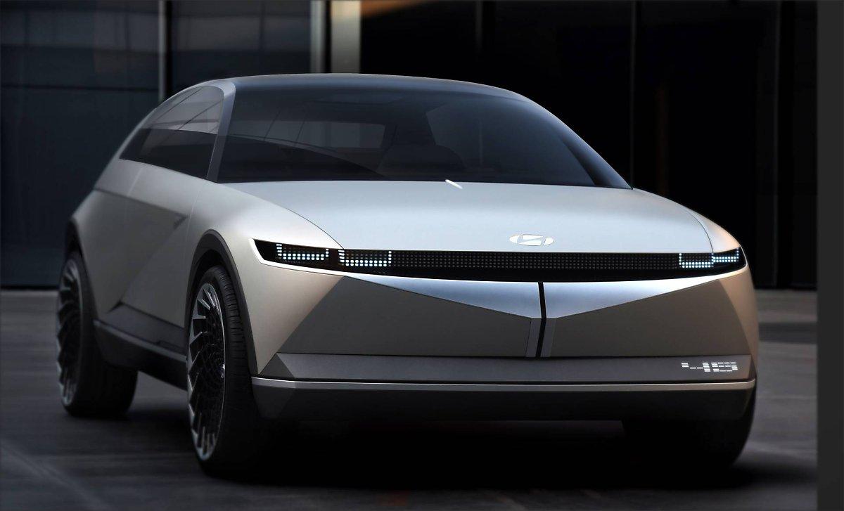 현대자동차 45 Ev 컨셉트카 공개 네이버 포스트