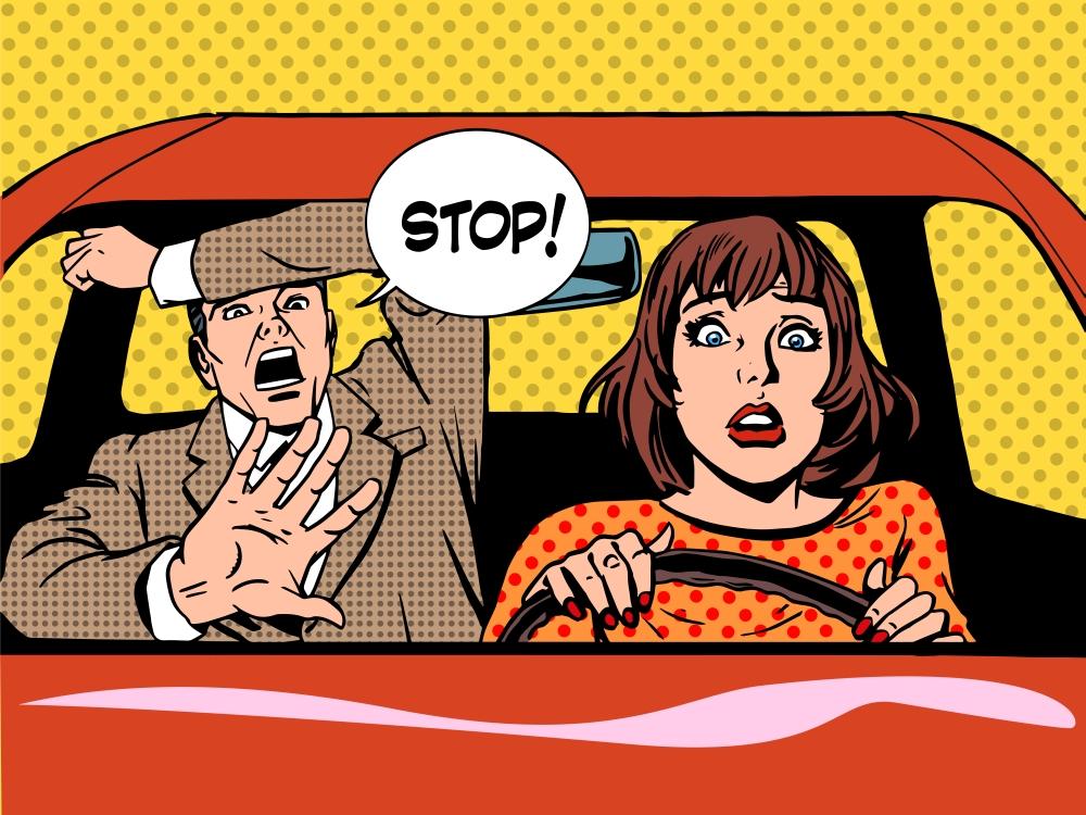운전자 기분 망치는 자동차 조수석 동승자 비매너 유형