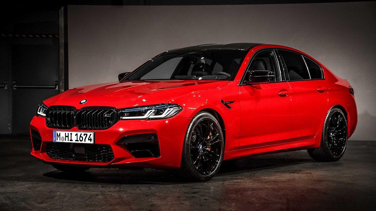 2021 BMW M5 Xdrive Awd Spy Shoot