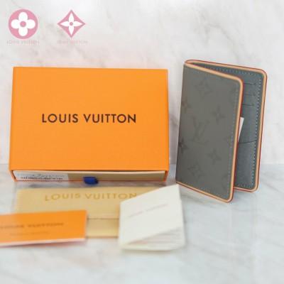 루이비통 한정판 모노그램 코스모스 티타늄 카드지갑