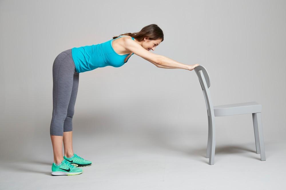 부실해진 하체를 건강하게 의자 활용한 간단 운동법