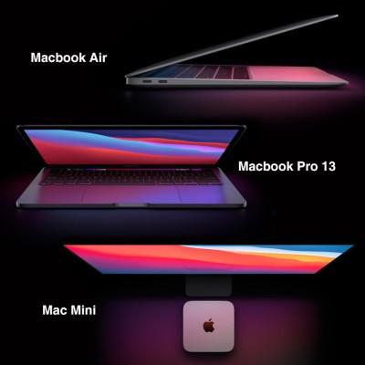 Macbook Air, Macbook Pro 13, Mac Mini 출시