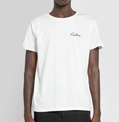 셀린느 핸들 자수 티셔츠 / 3컬러