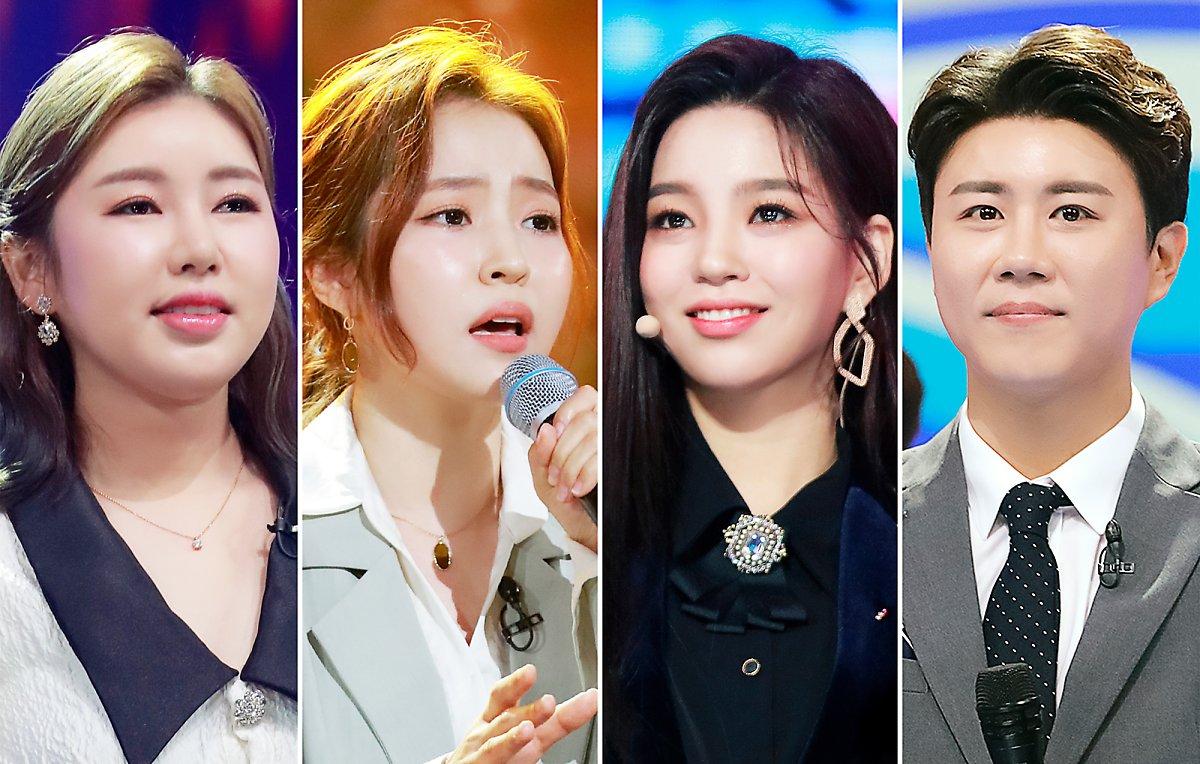 송가인-홍자-진해성, 다시는 볼 수 없는 무대 공개