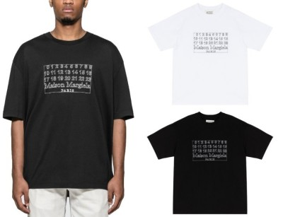 메종마르지엘라 넘버링 티셔츠 / 2컬러
