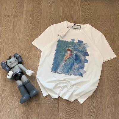 구찌 프린팅 티셔츠
