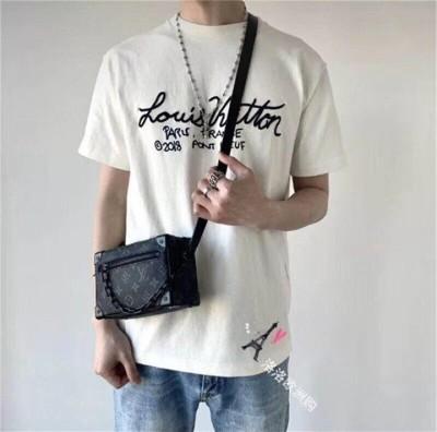 루이비통 로고 레터링 티셔츠 / 화이트