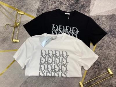디올 스카치 자가드 티셔츠 / 2컬러