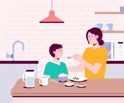 식사 거부하는 아이 제때 끼니 먹이는 방법은?