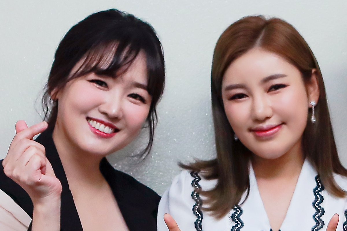 '미스트롯1' 멤버들 '송가인' 마지막 방송 함께했다