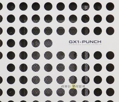 마이크로닉스 GX1-PUNCH 강화유리 컴퓨터 케이스