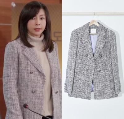 오 삼광빌라 황신혜, 김태희 화보 올리비아로렌 트위드 자켓 패션