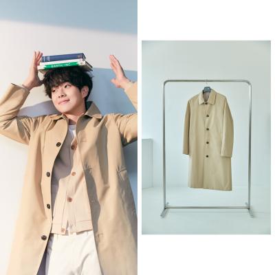 최우식이 제안하는 봄 코트 패션