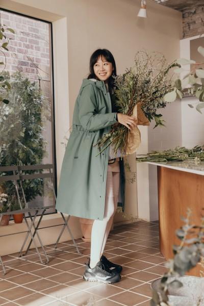 공효진 코오롱 웨더코트와 무브 여성 봄 자켓, 바람막이, 등산화 추천해요!