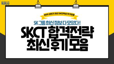 [SK 인적성] 최신 SK인적성 후기 모음, 난이도, 합격전략까지!