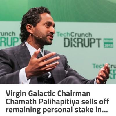 우주기업 '버진 갤럭틱(VIRGIN GALACTIC)'의장, 개인보유 주식 전량 매각
