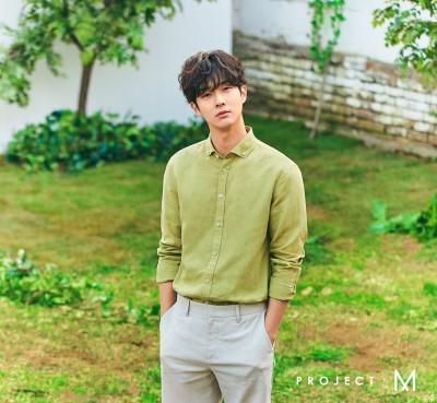 최우식 X 프로젝트엠 싱그러운 봄 셔츠 패션